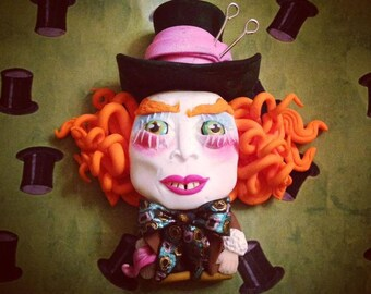 Mini sculpture of the Mad Hatter