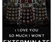 Items Similar To Doctor Who Dalek Valentine S Day Custom