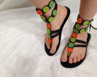 Gladiator Beaded Masai sandals