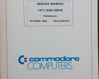 Service Manual 1571 Disk Drive Preliminary