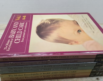 The Modern Encyclopedia of Baby and Child Care, 1966, vintage baby care books