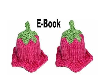 Strickanleitung E-Book Eierwärmer Glockenblume