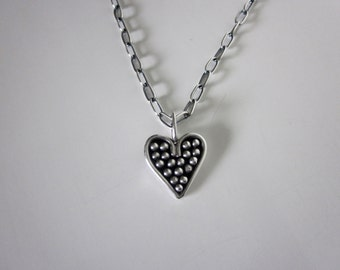Bella's Handcrafted Heart Necklace