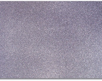 2 x A4 sheets of Premium Dovecraft Charcoal Grey Glitter Card 220 gsm