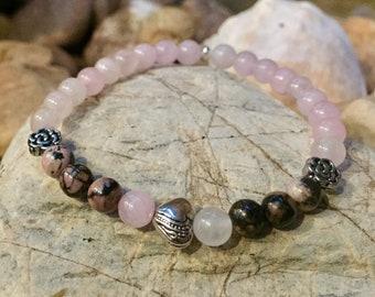 Love gemstone mala bracelet