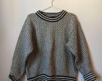 Vintage 1980's L.L. Bean Wool Sweater