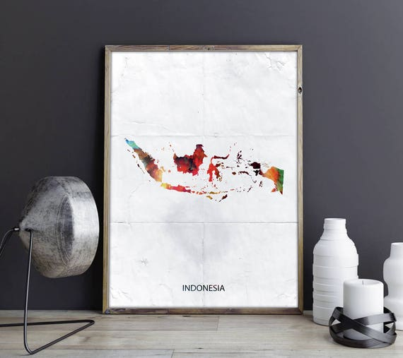 & Indonesia Artwork Indonesia Wall Art Indonesia Wall Decor