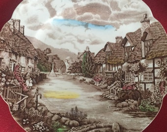 """Johnson Brother's Old English Countryside 10"""" dinner plate"""
