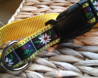EDELWEISS Adjustable Dog Collar