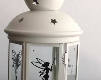 Cream Fairy Tealight Lantern