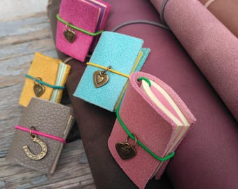 Miniature livre charme les voyageurs pour ordinateur portable en cuir petit journal mini faveur tn charmes _ choisir parmi 27 couleurs