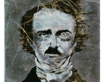 Edgar Allen Poe 28X28