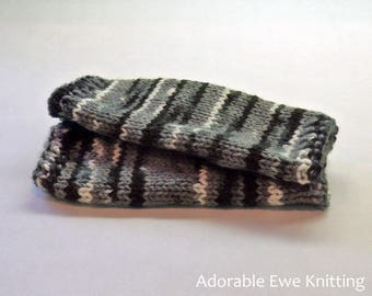 Knitted Junior Wrist Warmers