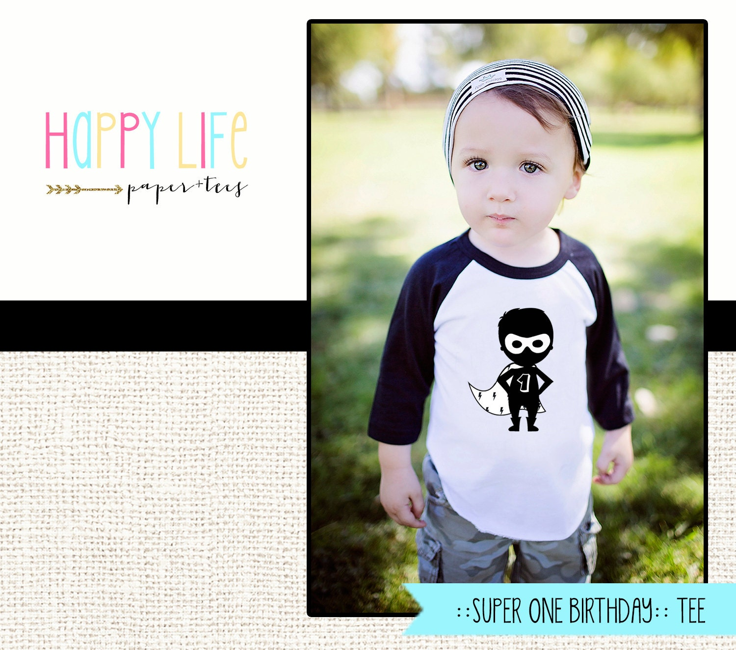 SUPERHERO BIRTHDAY Shirt First Birthday Shirt Superhero