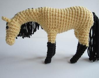 PDF Crochet Horse Pattern **WITH Additional Instruction on Face Markings**- Crochet Animal Amigurumi