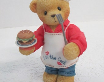 "Vintage Cherished Teddies resin ""Dennis "" You Put The Spice In My Life"" figurine 510963"