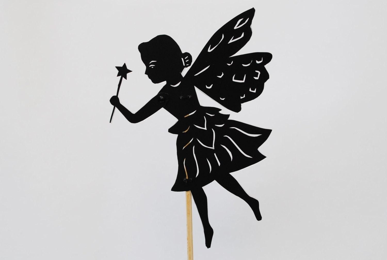Princess Fairy Shadow Puppet Hand cut