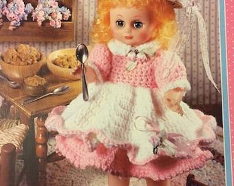 Goldilocks Fairy Tale Doll Crochet  Pattern 13 inch Doll