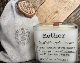 Delivery after May 13th -- Soy Candle  / Mother's Day Candle / Mom Gifts / Gift's For Mother's Day /Mother's Day