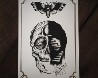 LIMITED Soul Stairs - Tattoo print 50/50 signed