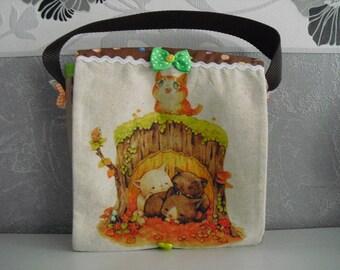 """Cute little bag """"Kitties"""""""