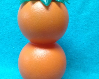 Smirnoff Vodka Promotional Plastic Oranges Orange Juice Pitcher 9 1/2""