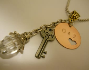 Custom Stamped Sweetheart Necklace