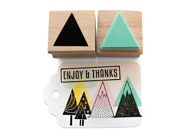 Triangle stamp