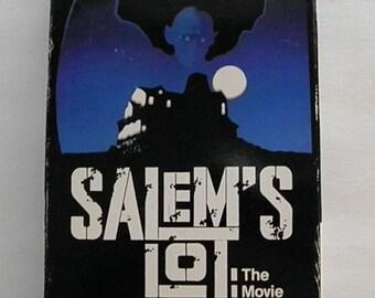 Salem's Lot Stephen King VHS Video Tape  Rare OOP Pre-owned