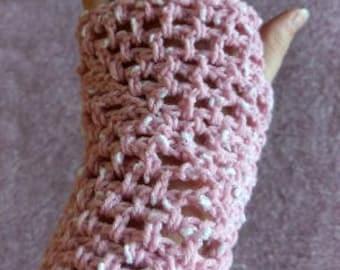 Netting Fingerless Gloves