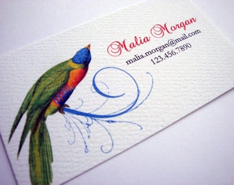 Personalized Business Cards, Custom Business Cards - Set of 50