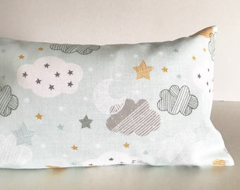 Bean Sprout Husk Pillow / Husks pillow / baby pillow for calming, made from imported fabric (100% Handmade, Premium Quality)