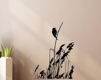 Bird Nature Animals Wall Vinyl Decal Sticker Home Decor Art Mural  Z437