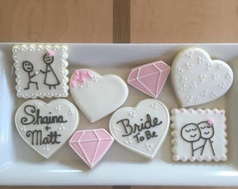Wedding Shower Cookies