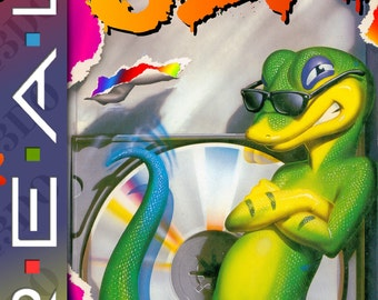 Gex Reproduction Panasonic 3DO Game.