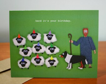 It's Your Birthday, Ya Herd - Funny Birthday Card