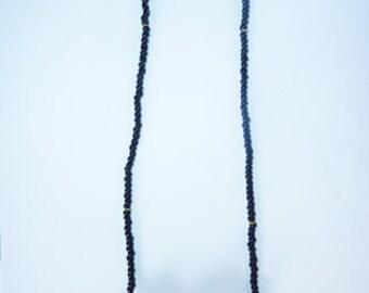 Red Kenyan Amber Bead Necklace