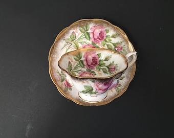 Royal albert rose tea cup