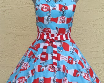Thing 1 Thing 2 - Cat in the Hat Apron