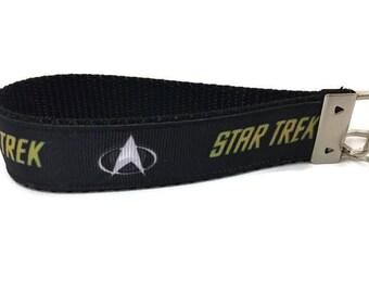 Star Trek Keychain, Key fob, Wristlet