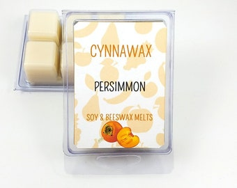 PERSIMMON Soy & Beeswax Melts