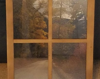 OUT THE WINDOW - works with almost any 16X20 photo