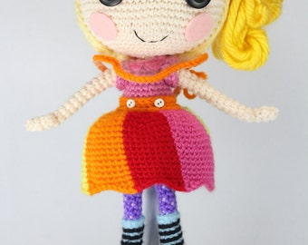 PATTERN: April Crochet Amigurumi Doll
