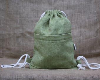 Backpack bag sack backbag backpack Laptop Cycling fabric Canvas Technical backpack sporty yoga handmade laptop bag gym bag drawstring bag