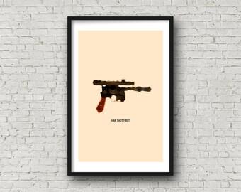 Han Shot First! - Han's Gun