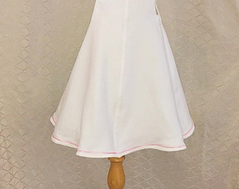 White Princess Dress.