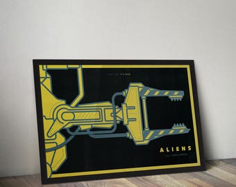 Aliens Movie Poster Print