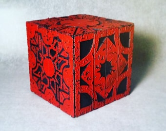 Hellraiser Puzzle Box Prop Replica 1:1 Red Lament and Star Configuration