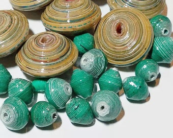 Fair Trade Paper Bead Mix 19