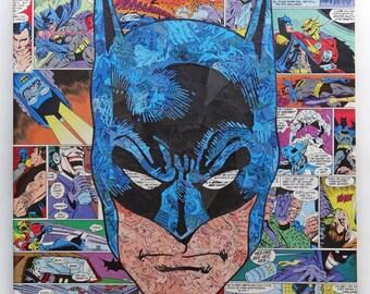 Batman Original Comic Collage